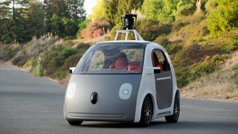 Zelfrijdende auto Google kan snelheid overtreden   School   Scoop.it