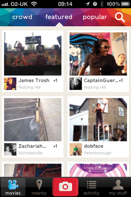 Get social with collaborative movie-making | iPhone | Creative Bloq | METIDMATCH 2013 | Scoop.it