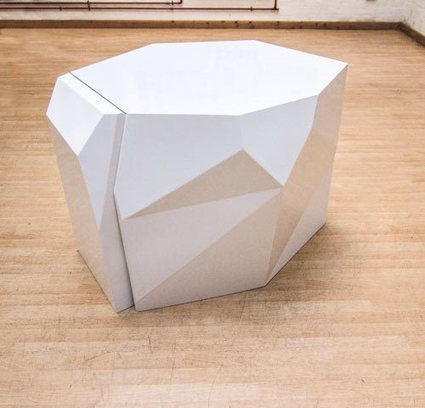 Futuristic Table And Chairs To Hide In It | Architecture, Design, Art, Technology | Scoop.it