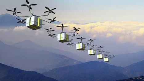 New trials for delivering goods by Drones | Technology in Business Today | Scoop.it