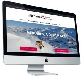 Nouveau site pour la station Les Menuires   Sitra   NOE interactive   Scoop.it