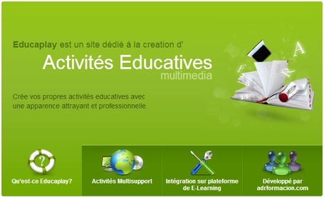 Site d' Activités Éducatives multimedia - Educaplay | formation 2.0 | Scoop.it