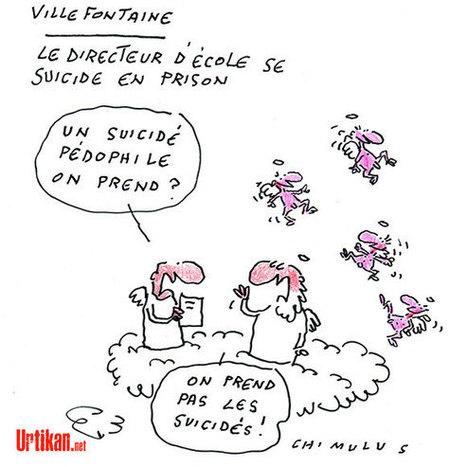 Accusé de pédophilie, l'ex-directeur d'école de Villefontaine s'est suicidé | Dessinateurs de presse | Scoop.it