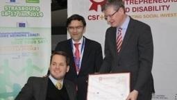 Discapnet: Ceremonia de entrega del 1er Premio europeo para el Emprendimiento Social y la Discapacidad: promoviendo la inversión social, en Estrasburgo   Enero 2014 - Resumen de Prensa Fundación Personas   Scoop.it