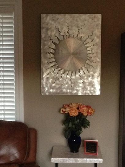 Client Spotlight: LED wall art installed. | Metalphoria - Buy metal ... | Metal Art | Scoop.it