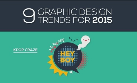 9 Graphic Design Trends for 2015 - #infographic | Graphics Web Design & Development News | Scoop.it