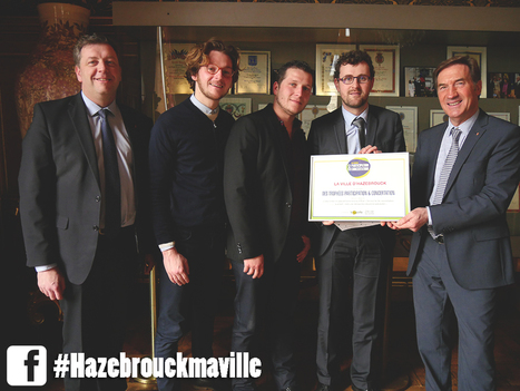 Hazebrouck : lauréate d'un concours national - Ville d'Hazebrouck | Urbanisme | Scoop.it