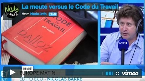 La meute versus le Code du Travail (par le collectif Nada) - Acrimed | Action Critique Médias | Econopoli | Scoop.it