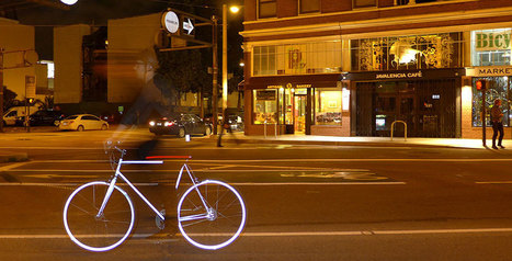 The Coolest Glowing Bike is From SF | Bicycle Safety and Accident Claims in CA | Scoop.it