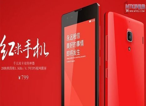 Xiaomi Hongmi 2 to Run MediaTek MT6592 Octa, Price Could be 799 Yuan | Moboroid.Net- Delivering Droid News | Scoop.it