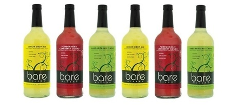 Drink Spotlight: Bare Mixers Low Calorie Drink Mixers | TrendMonitor | Low Calorie Cocktails and Alcoholic Drinks | Scoop.it
