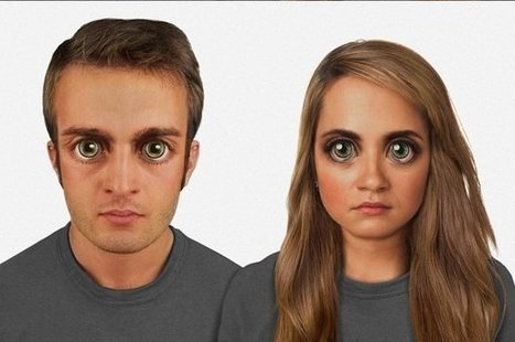 How The Human Face Might Look In 100,000 Years | African futures insight | Scoop.it