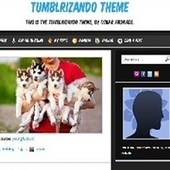 200 Best Free Tumblr Themes 2013 Edition   Tumblr Themes   Scoop.it