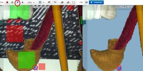 En la nube TIC: Clipping Magic y di adiós a los fondos de imágenes. | Edu-Recursos 2.0 | Scoop.it