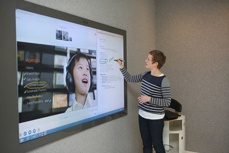 Microsoft Shows Off Ultra-Large Touch-Screen Display with Kinect, Predicts Laptops with Motion Sensors. | 21st Century Innovative Technologies and Developments as also discoveries | Scoop.it