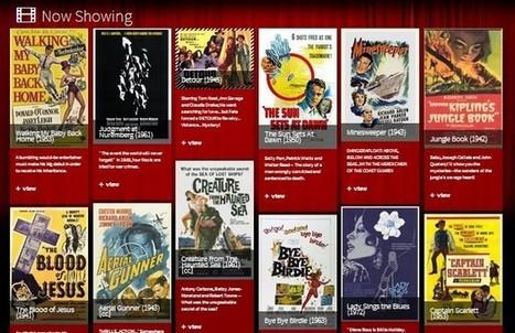 Sitios para ver películas gratis legalmente por Internet | Pedalogica: educación y TIC | Scoop.it