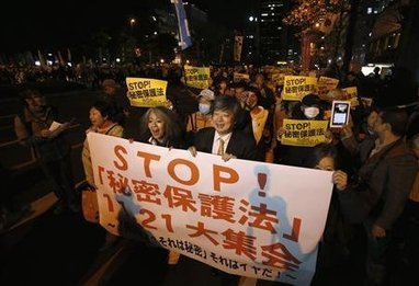 Thousands protest against tough new official #secrecy law in #Japan #FUKU #Fukushima | Messenger for mother Earth | Scoop.it
