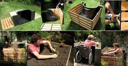 TERRAform raised bed makes gardening wheelchair accessible | botany | Scoop.it