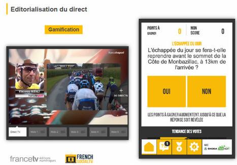 Gamification et second écran : les enseignements du Tour de France et de Roland Garros | French Social TV | Big Media (En & Fr) | Scoop.it