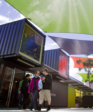 Container mall celebrates first anniversary - The Press | Innovative Architecture | Scoop.it