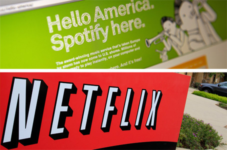 Should Netflix buy Spotify? | Social on the GO!!! | Scoop.it