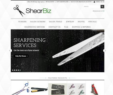 ShearBiz - BigCommerce website design | Web design | Scoop.it