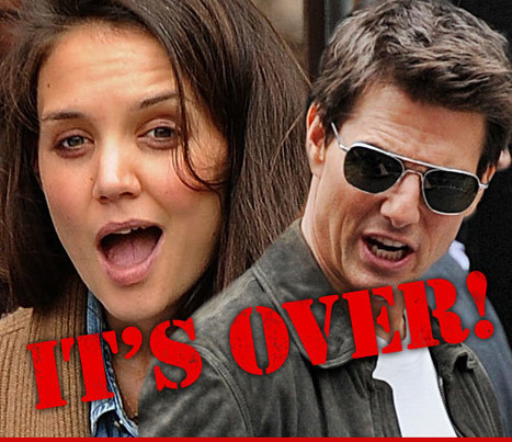 Tom Cruise and Katie Holmes to Divorce | The Billy Pulpit | Scoop.it