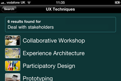 UX Techniques for iPhone, iPod touch, and iPad on the iTunes App Store | UXploration | Scoop.it