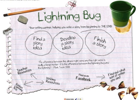 Lightning Bug - Write a story from beginning to end | ENGLISH LEARNING 2.0 | Scoop.it