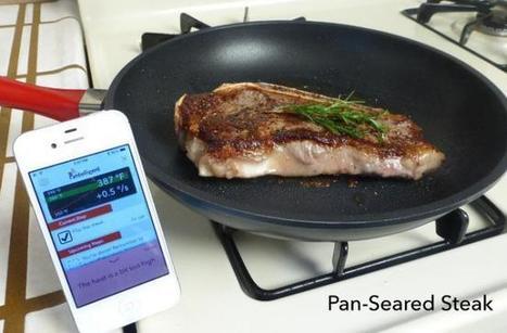 Pantelligent, la sartén bluetooth para cocineros inexpertos (o muy meticulosos) | ricveal | Scoop.it