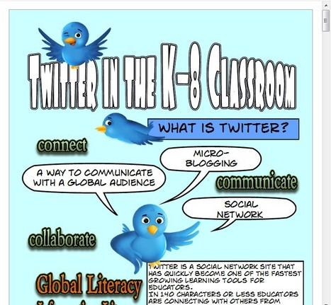Teachers Guide to The Use of Twitter in Classroom | A New Society, a new education! | Scoop.it
