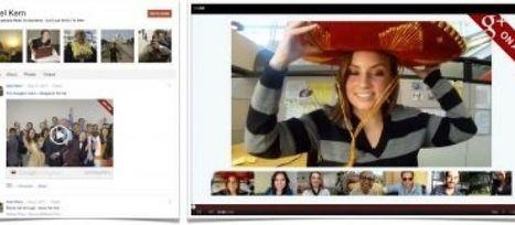 Google+ réplique à Facebook et fait le plein de nouveautés   SocialWebBusiness   Scoop.it