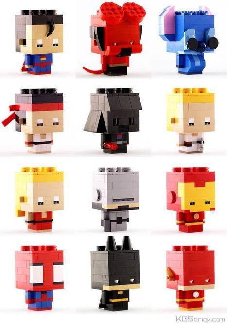 Les excellentes créations LEGO de KOS brick | LittArt | Scoop.it