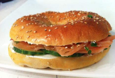 Recette du bagel au saumon | <3 Food | Scoop.it