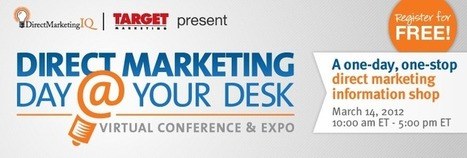 Direct Marketing Day @ Your Desk - | Roadkill Marketing Cafe Insights and Foresights. | Scoop.it