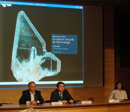 Inauguration du nouveau site web de la galerie de minéralogie du ... | Nouveautés Web, apps et musées | Scoop.it