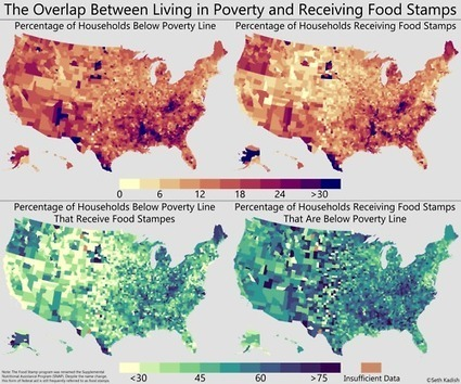 The distribution of households living at various levels of poverty in US counties | Urban Agriculture | Scoop.it