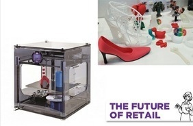 3D-Printing Kiosk Allows Customers To Personalize Physical Objects [Future Of Retail] | 3D design learning | Scoop.it
