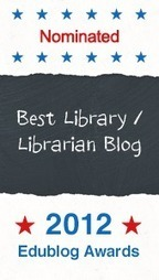 Best Library / Librarian Blog 2012 | The Edublog Awards | Favourite Library blogs | Scoop.it
