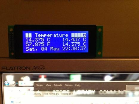 Playing with temperature sensors ... | Raspberry Pi | Scoop.it