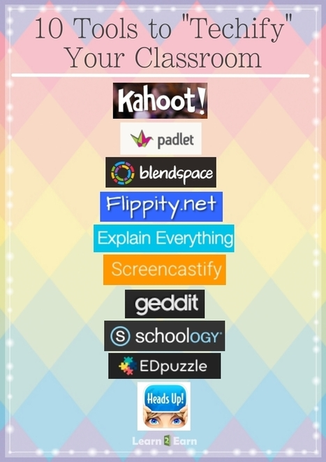 "10 Teacher Tools to ""Techify"" Your Classroom 