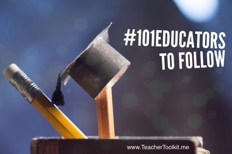 #101Educators to Follow on Twitter by @TeacherToolkit | ANALYZING EDUCATIONAL TECHNOLOGY | Scoop.it