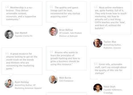 My Shortcut For Landing 24 Raving Reviews From Top Tech Founders & VCs | Social, Content, Hacking | Scoop.it