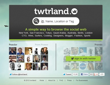 twtrland : Social analytics tool | Time to Learn | Scoop.it