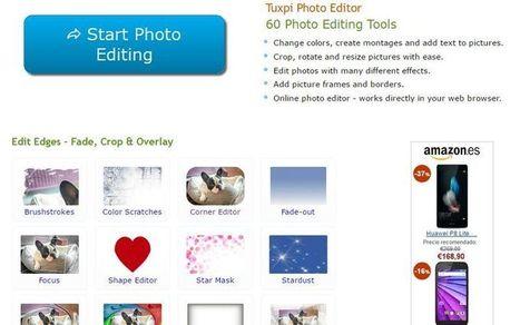 Tuxpi: 60 herramientas gratuitas para editar imágenes online | paprofes | Scoop.it