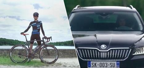 (Campagne) Skoda récompense vos efforts à vélo en km à parcourir à bord d'une voiture   AS2.0 - 13   Scoop.it