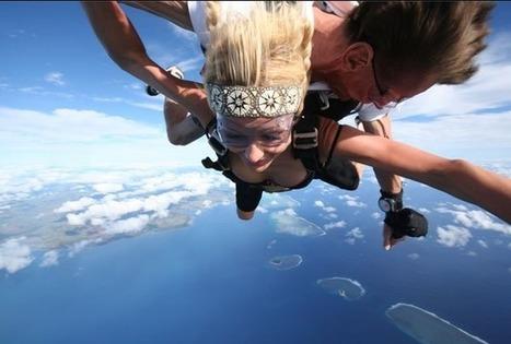 Paris Hilton Goes Skydiving, Shares 'Extreme' Selfie | Digital-News on Scoop.it today | Scoop.it