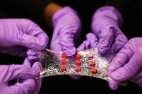 MIT has invented the sticky, stretchy & Smart 'Band-Aid of the Future | Perspectives on Health & Nursing | Scoop.it