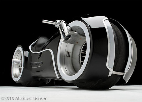 Parker Brothers Choppers Creates 10 TRON: Legacy Light Cycles | All Geeks | Scoop.it