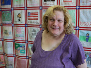 Special ed students relate history in quilt - Lake County News Sun | Quilts-CivilWar | Scoop.it